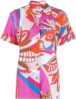 Emilio Pucci Corisco print shirt