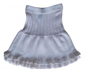 Christian Dior White Wool Skirts