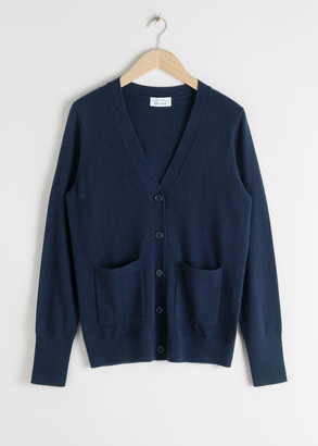 And other stories Duo Pocket Cashmere Cardigan