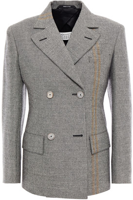 Maison Margiela Double-breasted Wool Blazer