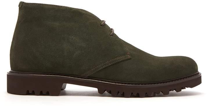 Giorgio Armani Suede desert boots