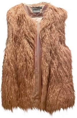 ASOS Pink Faux fur Jacket for Women