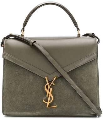 Saint Laurent monogram plaque shoulder bag