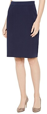 Misook Straight-Knit Pencil Skirt