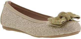 Stuart Weitzman Little & Big Girl Fannie Chain Glitter Dress Shoe