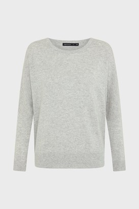 Karen Millen Cashmere Draped Shoulder Jumper