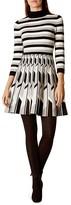 Karen Millen Geo Patterned Knit Dress