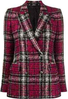 Tagliatore Double Breasted Tweed Blazer