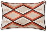 Aura Arrow 14-Inch x 20-Inch Oblong Throw Pillow in Orange