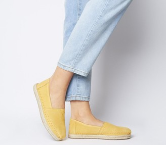 Toms Alpargata Rope Sandals Electric Yellow