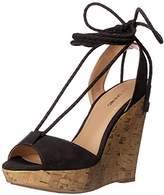 Call it SPRING Women's Treawen Espadrille Wedge Sandal,6.5 B US