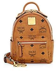 MCM Women's Essential Visetos Original Crossbody Backpack