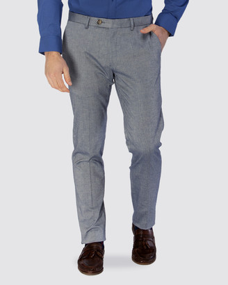 Brooksfield Stretch Herringbone Weave Trouser