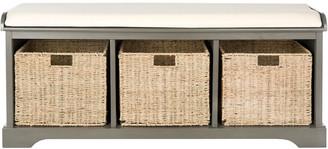 Safavieh Lonan Wicker Storage Bench