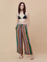 Diane von Furstenberg Beach Linen Culotte