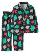 Just One You®; made by Carter's Toddler Boys' Long-Sleeve Fleece Coat Pajama Set Monsters 2T - Just One You&#...