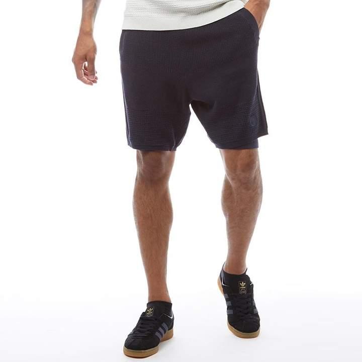 adidas x Wings + Horns Mens Linear Shorts Night Navy
