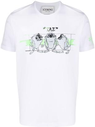 Iceberg Taz print T-shirt
