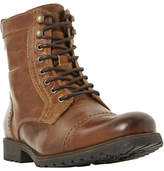 Dune Cowell Toe Cap Lace-Up Boots