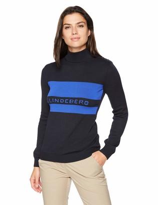 J. Lindeberg Women's Logo Turtle Neck Sweater