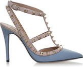 Valentino Rockstud 100 patent leather t-bar courts