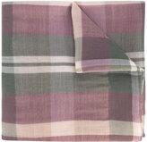 Brioni tartan scarf