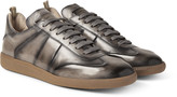 Officine Creative - Germain Polished-leather Sneakers