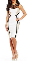 Calvin Klein Illusion Colorblock Sheath Dress