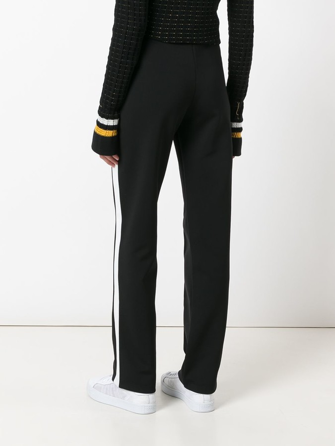 Moncler piped seam track pants