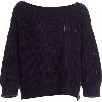 Valentino Navy Cotton Knitwear for Women