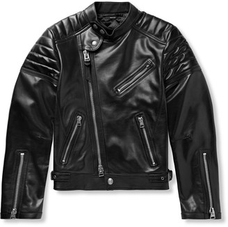 Tom Ford Icon Slim-Fit Leather Biker Jacket