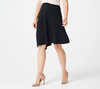 Elizabeth & Clarke Ponte Knit Skirt with StainTech