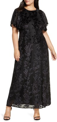 Kiyonna Parisian Dream Maxi Dress