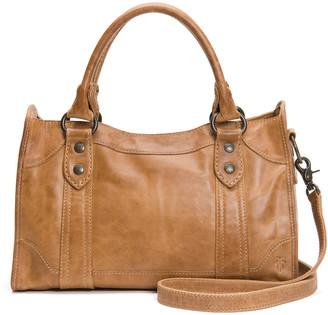 Frye Melissa Leather Satchel Bag