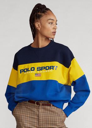 Ralph Lauren Color-Block Fleece Sweatshirt