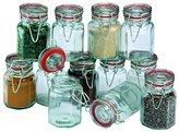 Apollo Clip Sealed Spice Jars, Set of 12