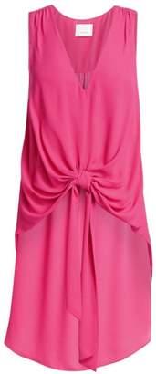 Cinq à Sept Aisha Tie-Front Sleeveless Blouse