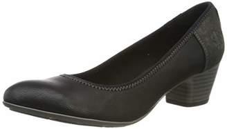S'Oliver Women's 5-5-22301-23 Closed Toe Heels, Black (Black 001)