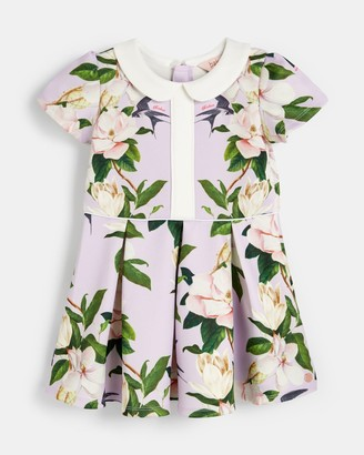 Ted Baker Opal Collared Pleated Dress