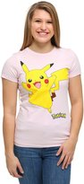 Pokemon Pikachu Smile Juniors T-shirt (Extra Large, )