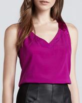 Nanette Lepore Bungee Sleeveless Silk Top