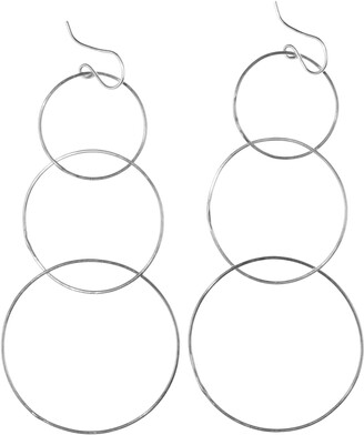 Nashelle Triple Hoop Drop Earrings
