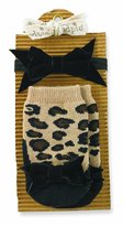 Mud Pie Leopard Sock and Headband Set