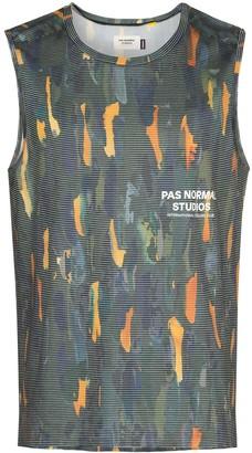 Pas Normal Studios Balance logo-print tank top