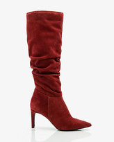 Le Château Italian-Designed Suede Slouch Boot