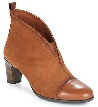 Hispanitas CASSIA women's Low Ankle Boots in Brown