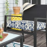 """Indoor/Outdoor Dining Chair Cushion Winston Porter Size: 22.5"""" H x 22.5"""" W x 5"""" D"""
