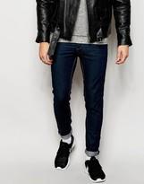 Selected Dark Blue Jeans In Skinny Fit