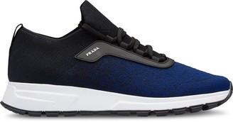 Prada PRAX-O01 knit fabric sneakers
