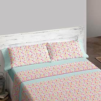 Camilla And Marc Burrito Blanco Burrito White tr1450 02 0901b Bedding Set, Cotton Blend, Pink, 39 x 27.5 x 4.5 cm